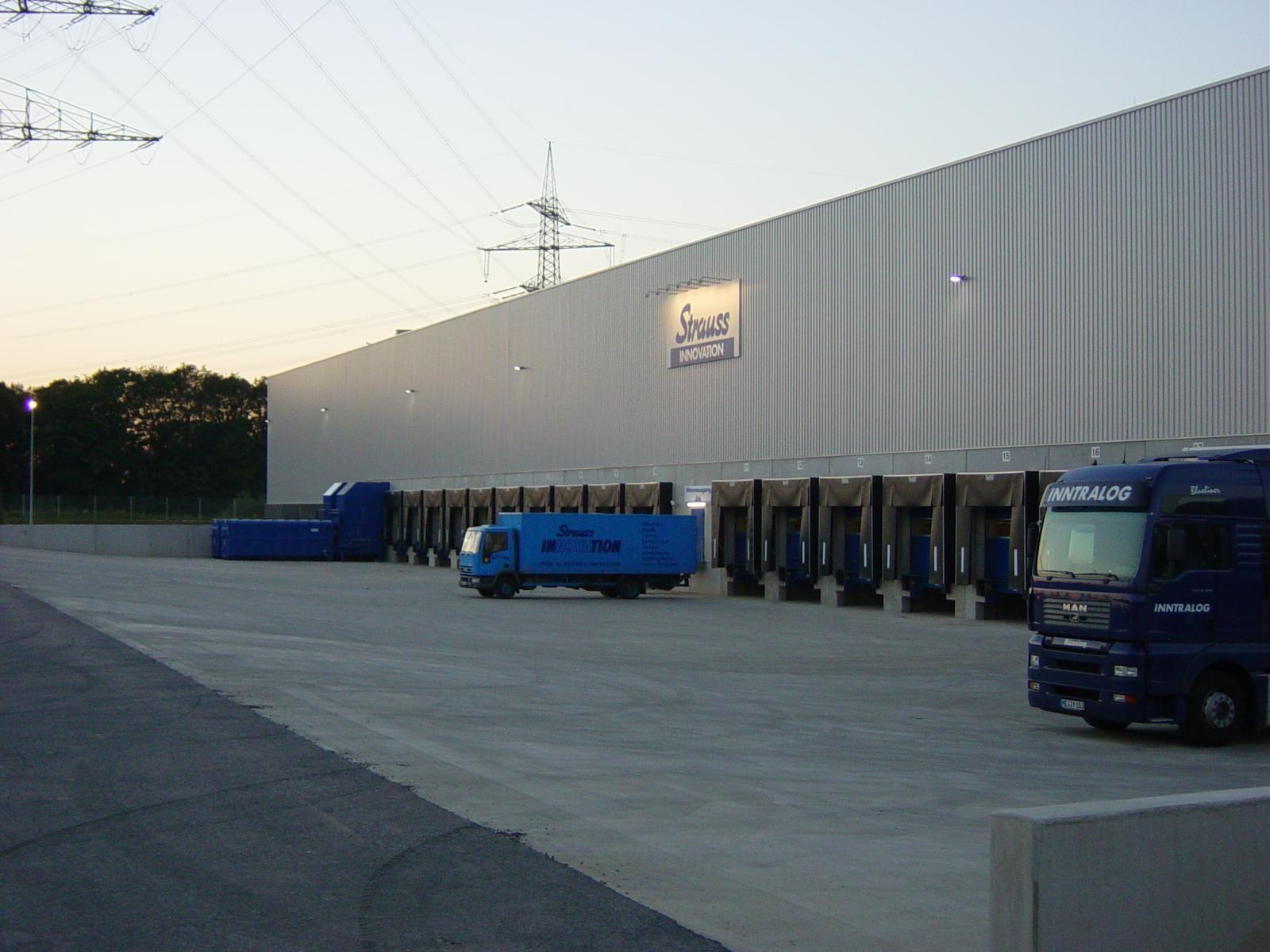 Strauss Logistics Center Takes Off News W3logistics Ag